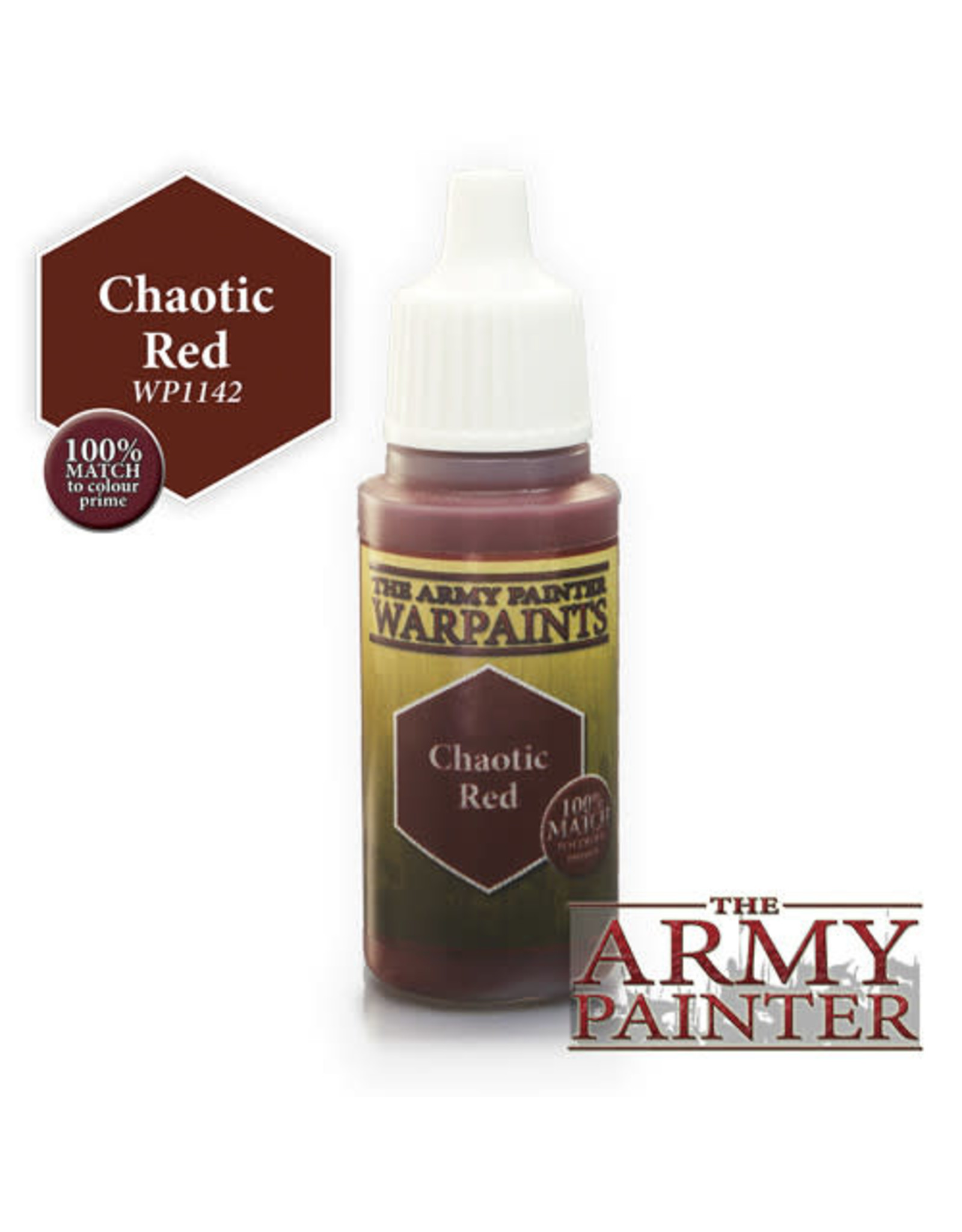 TAP Warpaints: Chaotic Red 18ml