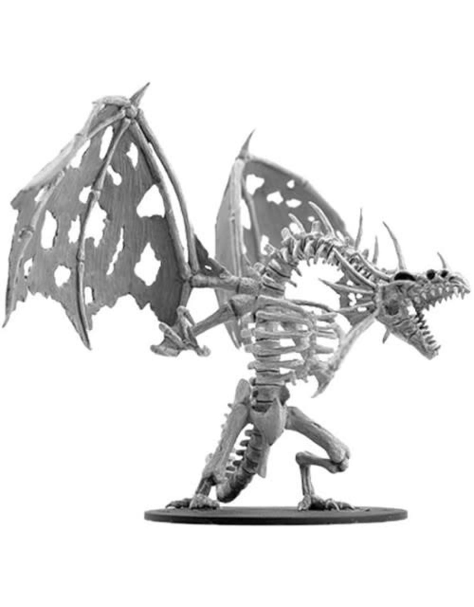 WizKids Pathfinder Deep Cuts Unpainted Miniatures: W11 Gargantuan Skeletal Dragon