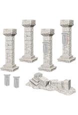 WizKids WizKids Deep Cuts Unpainted Miniatures: W11 Pillars & Banners