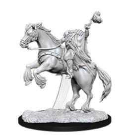 WizKids Pathfinder Deep Cuts Unpainted Miniatures: W12 Dullahan (Headless Horsemen)