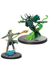 Atomic Mass Games Marvel: Crisis Protocol - Loki and Hela Character Pack