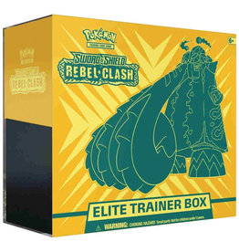 The Pokemon Company Pokemon TCG: Sword & Shield - Rebel Clash Elite Trainer Box