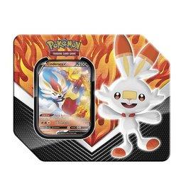 The Pokemon Company Pokémon TCG: Galar Partners Tin (Cinderace V)
