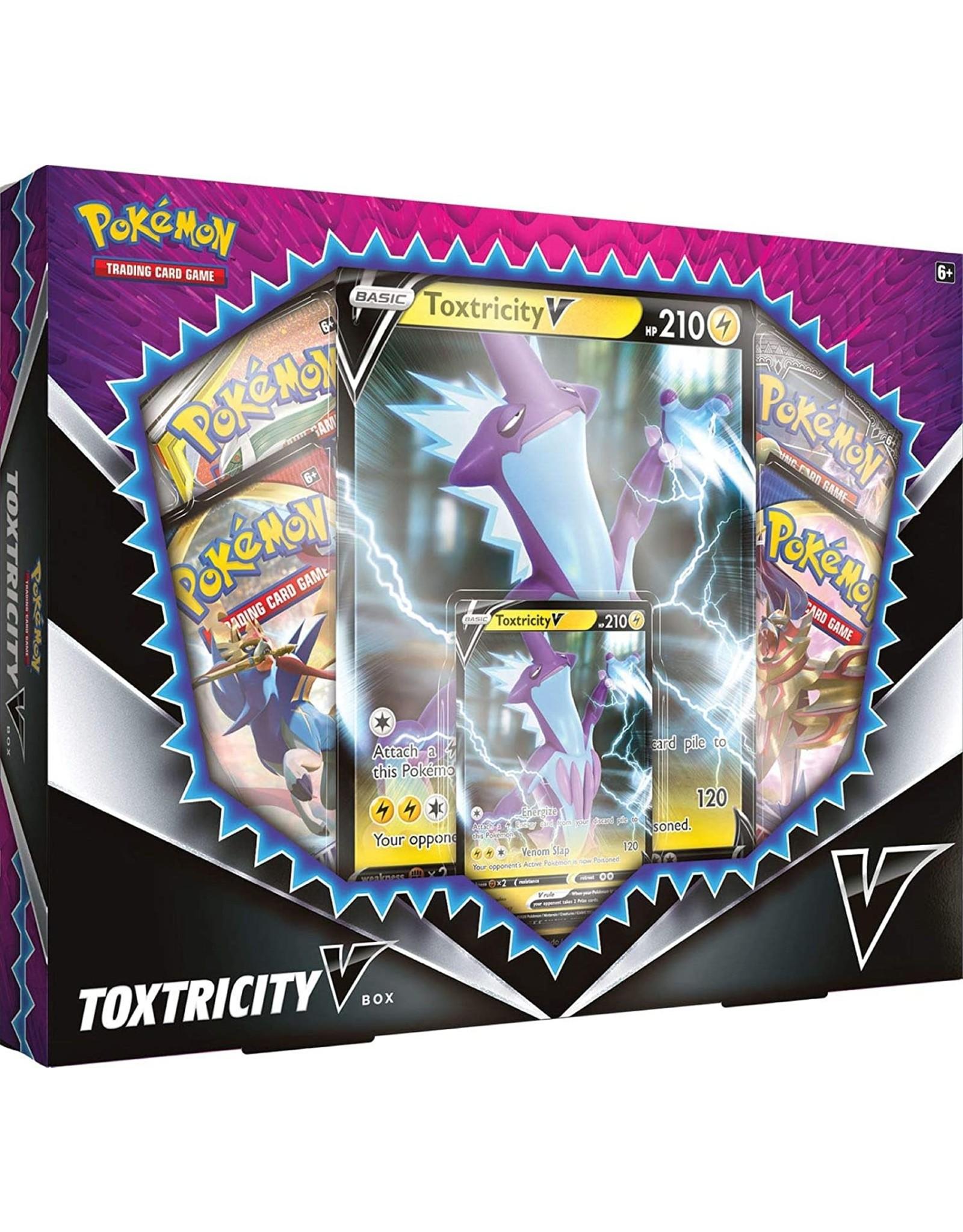 The Pokemon Company Pokémon TCG: Toxtricity V Box