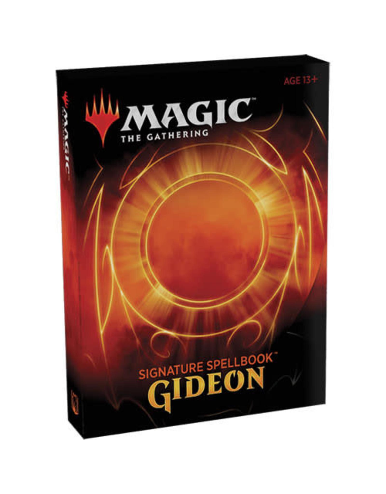 Wizards of the Coast Magic the Gathering: Signature Spellbook Gideon - Box Set