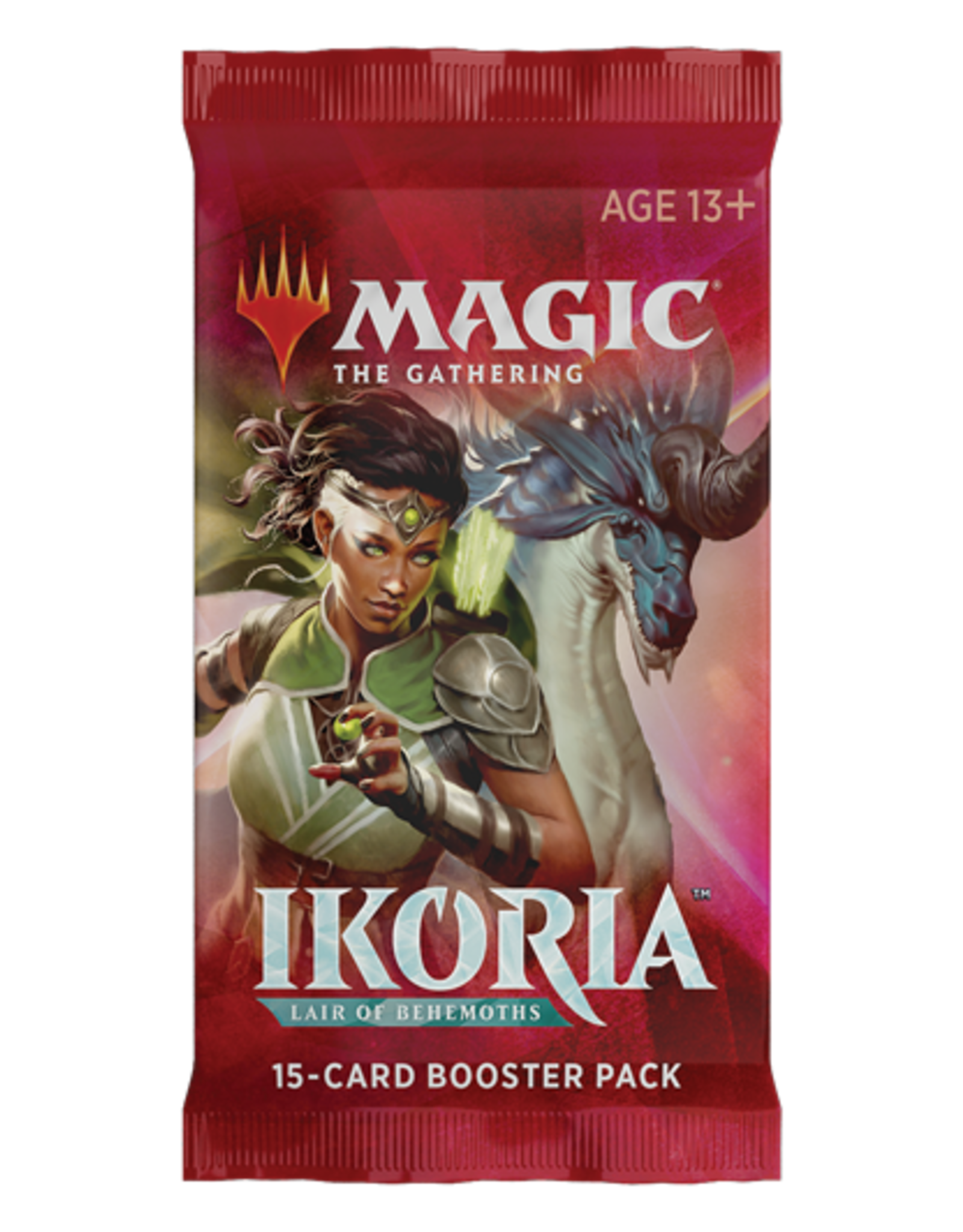 Wizards of the Coast Magic the Gathering: Ikoria: Lair of Behemoths - Booster Pack