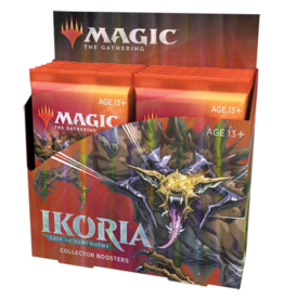 Wizards of the Coast Magic the Gathering: Ikoria: Lair of Behemoths - Collector Booster Box