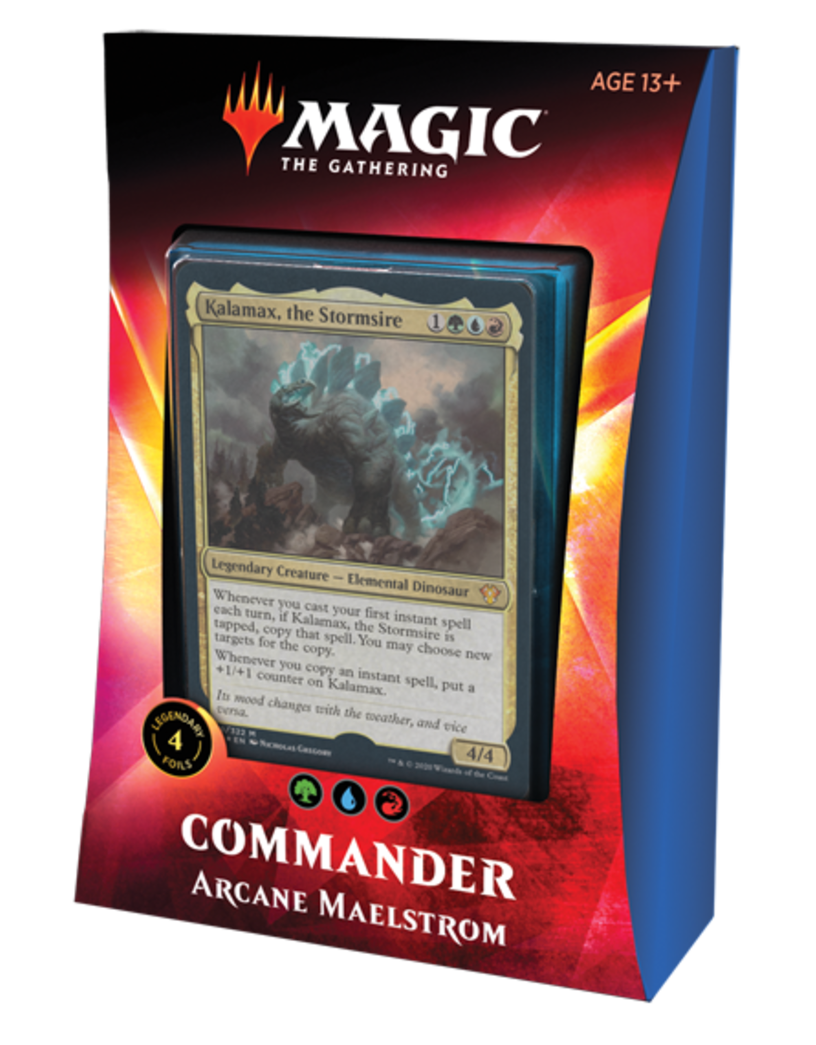 Wizards of the Coast Magic the Gathering: Commander 2020 - Ikoria - Arcane Maelstrom