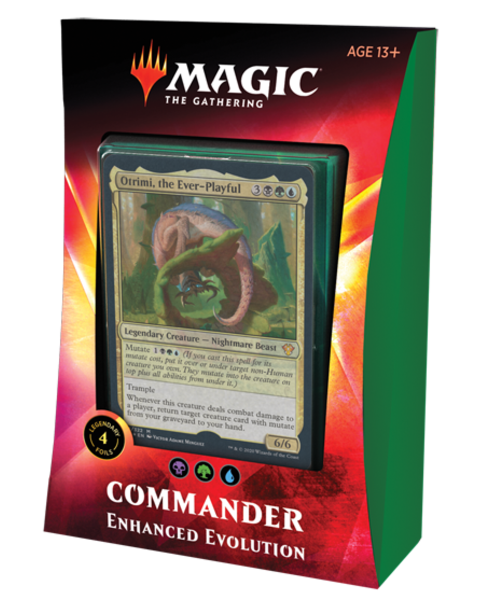 Wizards of the Coast Magic the Gathering: Commander 2020 - Ikoria - Enhanced Evolution