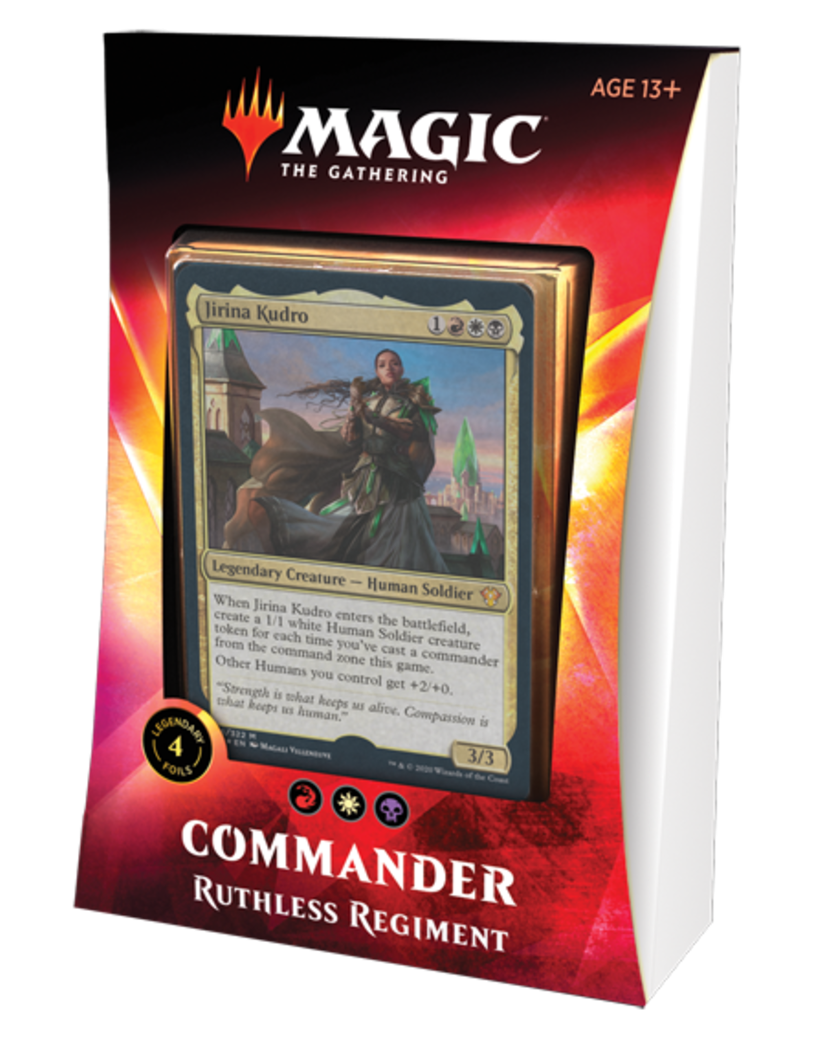 Wizards of the Coast Magic the Gathering: Commander 2020 - Ikoria - Ruthless Regiment