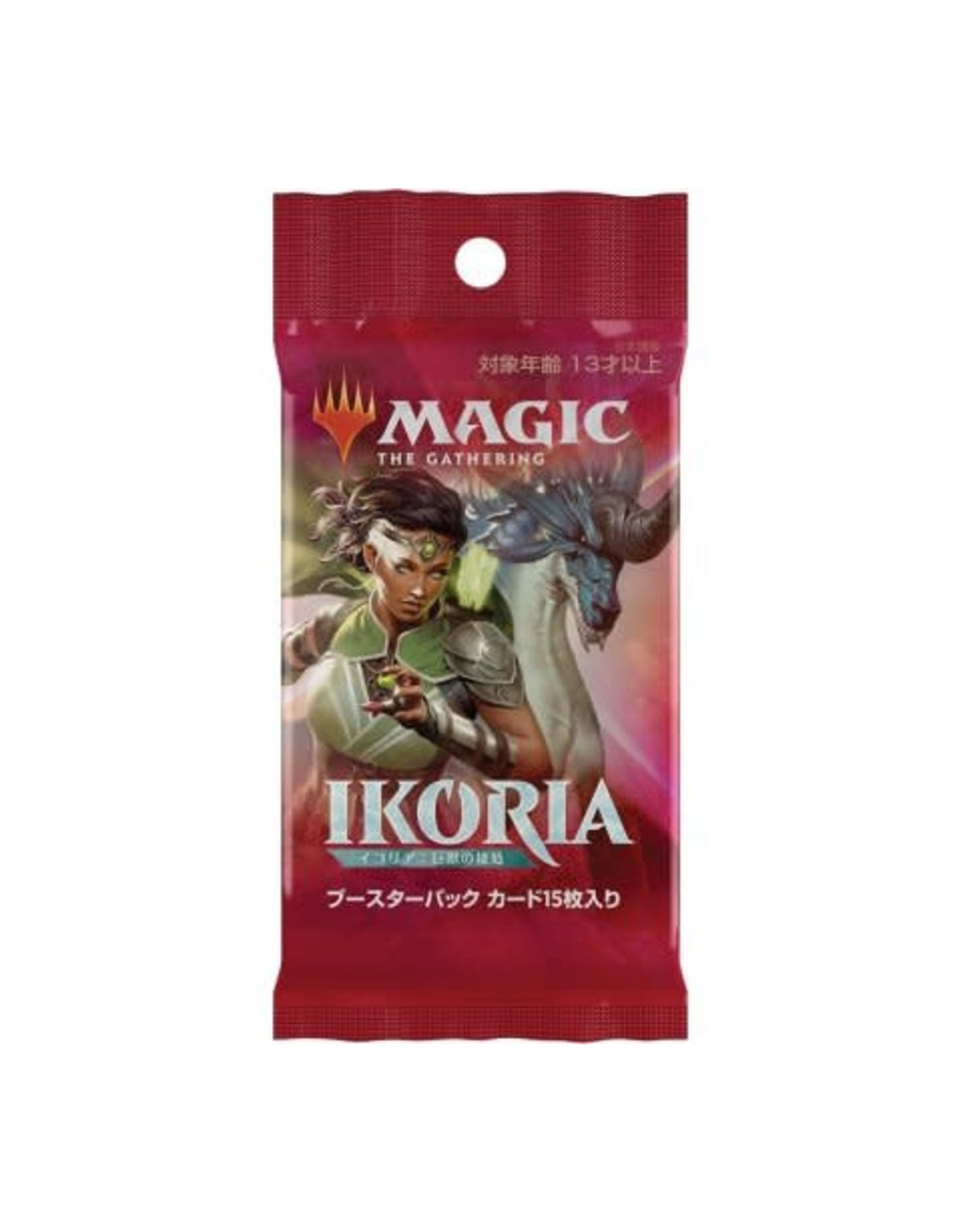 Wizards of the Coast Magic the Gathering: Ikoria: Lair of Behemoths - Booster Pack - Japanese