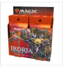 Wizards of the Coast Magic the Gathering: Ikoria: Lair of Behemoths - Collector Booster Box- Japanese
