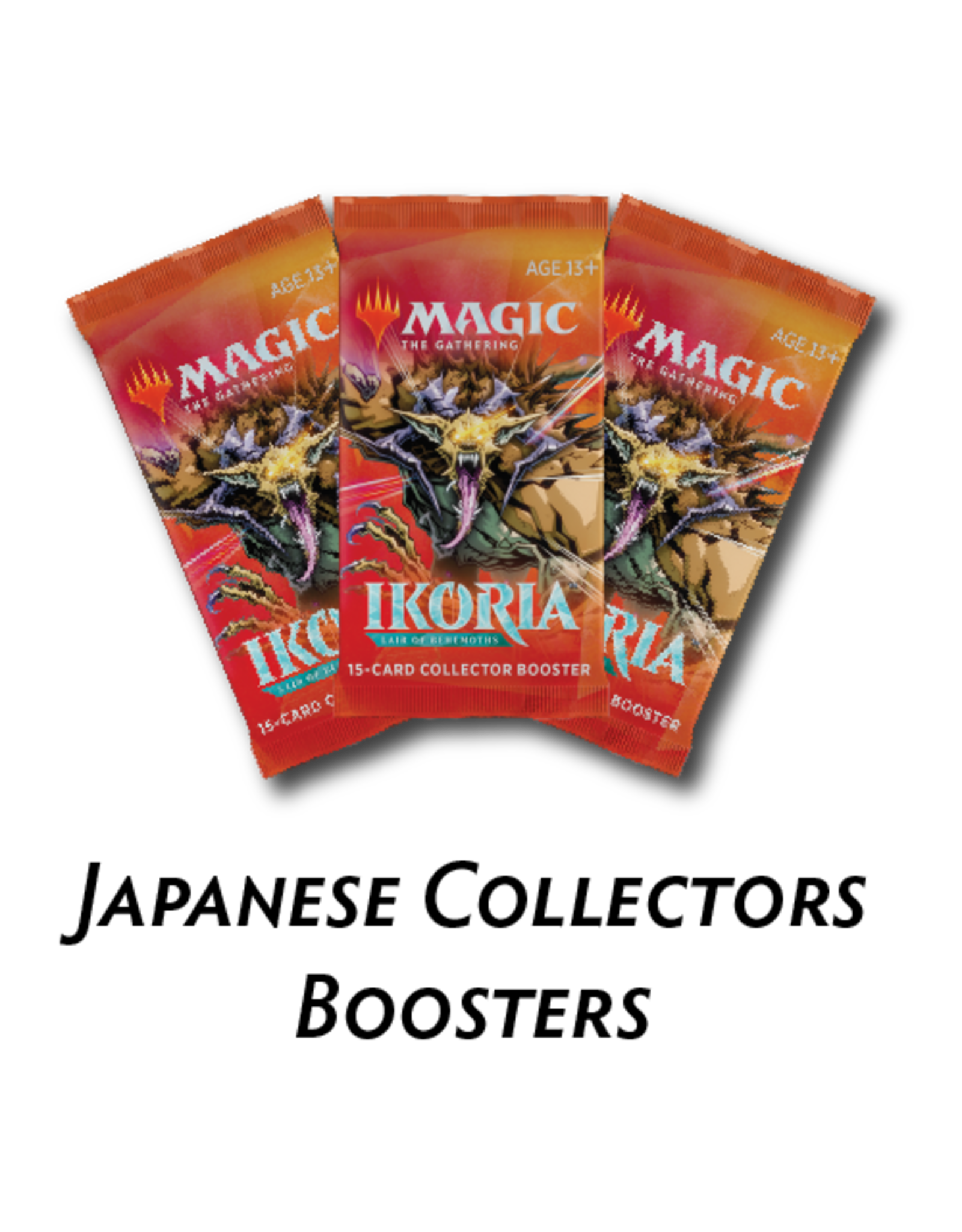 Wizards of the Coast Magic the Gathering: Ikoria: Lair of Behemoths - Collector Booster Pack- Japanese