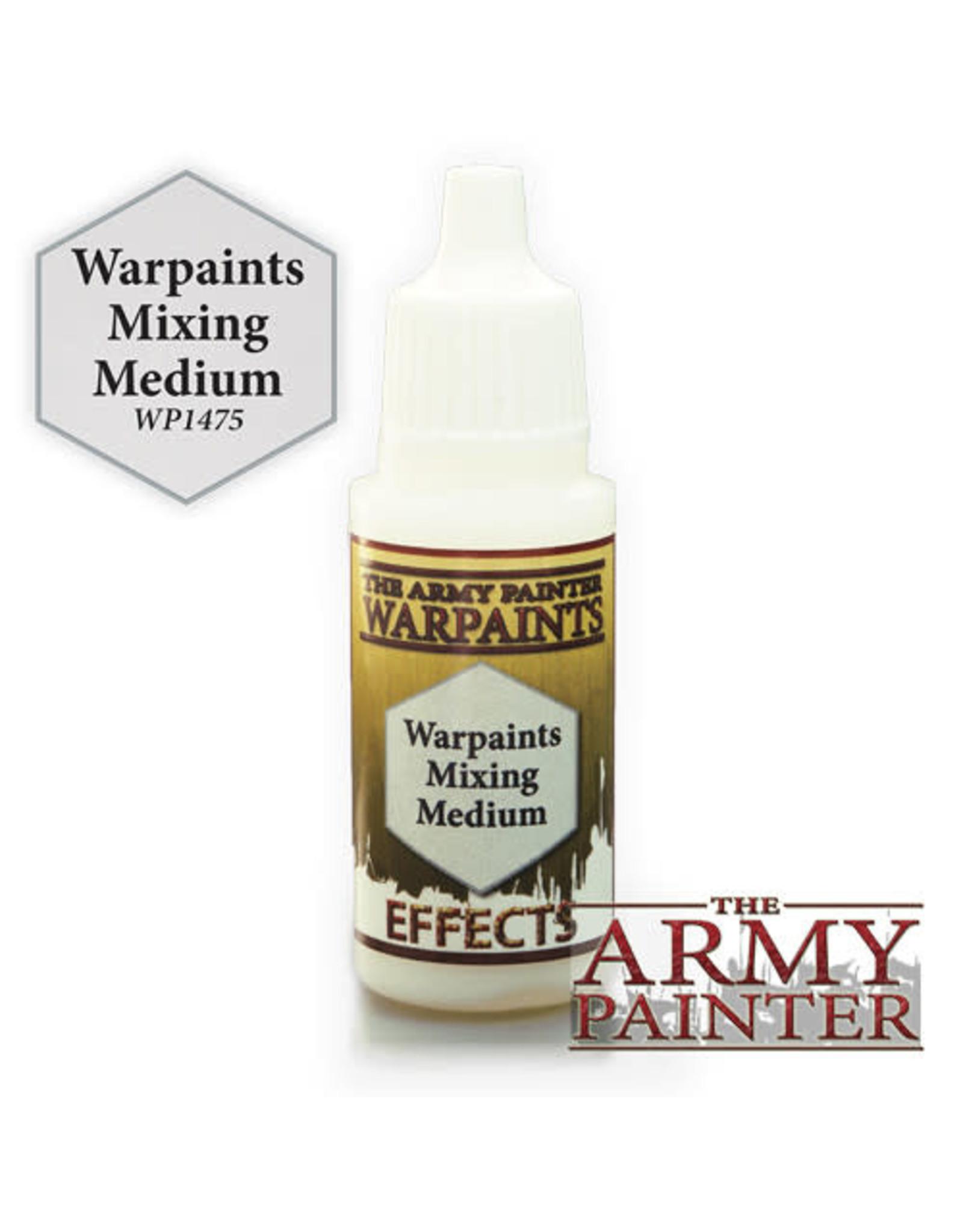 TAP Warpaints: Mixing Medium 18ml