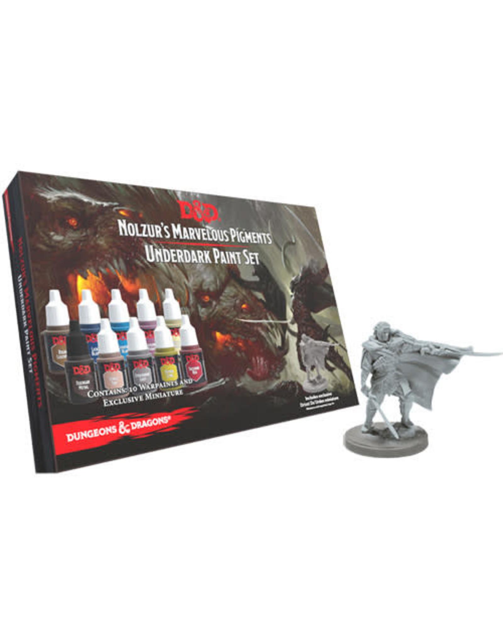 TAP Dungeons and Dragons Nolzur`s Marvelous Pigments: Underdark Paint Expansion Set
