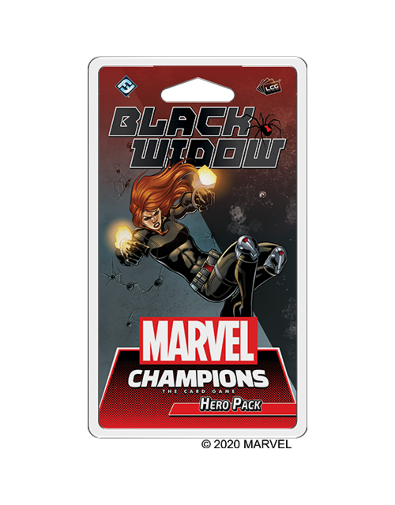 Fantasy Flight Games Marvel Champions LCG: Black Widow Hero Pack