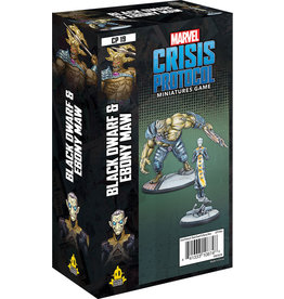 Atomic Mass Games Marvel: Crisis Protocol - Black Dwarf and Ebony Maw Character Pack