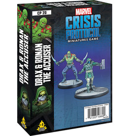 Atomic Mass Games Marvel: Crisis Protocol - Drax and Ronan the Accuser Character Pack