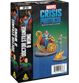 Atomic Mass Games Marvel: Crisis Protocol - Dr. Strange and Wong Character Pack