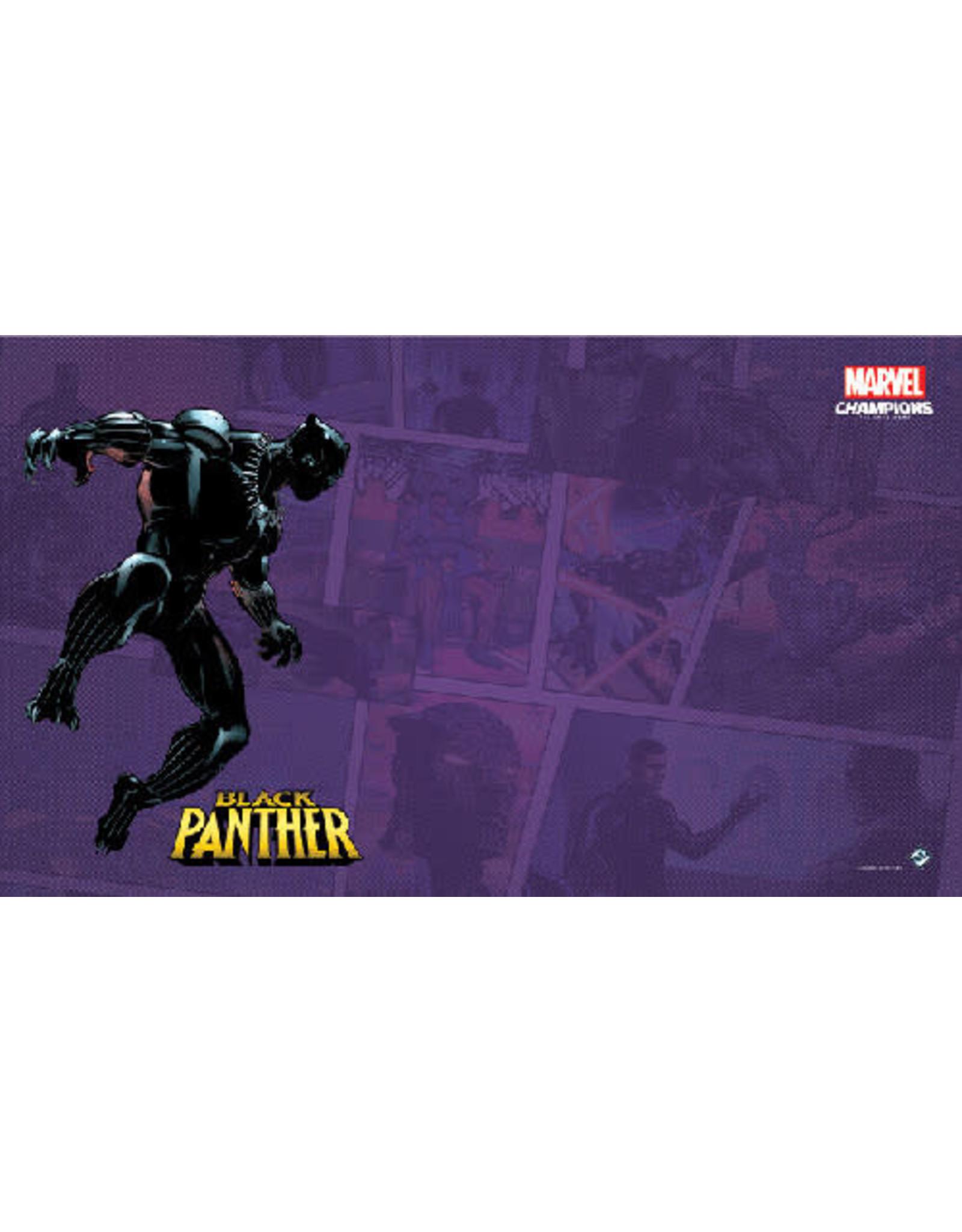 Fantasy Flight Games Marvel Champions LCG: Black Panther Game Mat