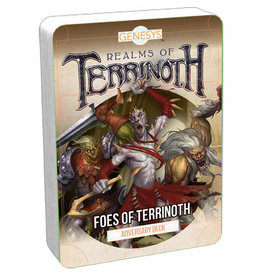Fantasy Flight Games Genesys RPG: Adversary Deck - Foes of Terrinoth