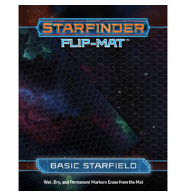Paizo Publishing Starfinder RPG: Flip-Mat - Basic Starfield
