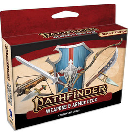 Paizo Publishing Pathfinder RPG: Weapons and Armor Deck (P2)