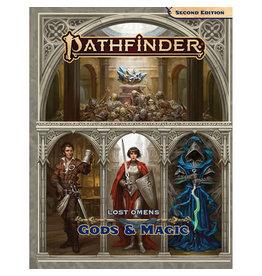 Paizo Publishing Pathfinder RPG: Lost Omens - Gods and Magic Hardcover (P2)