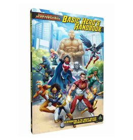 Green Ronin Publishing Mutants and Masterminds: Basic Hero Handbook