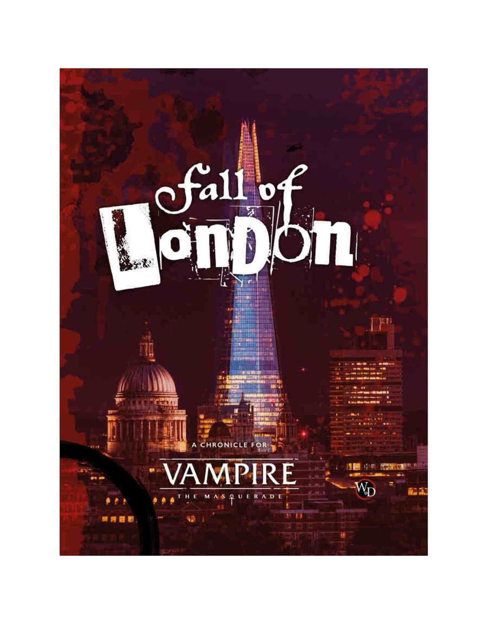 Onyx Path Publishing Vampire The Masquerade: The Fall of London