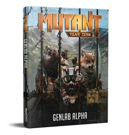 Modiphius Entertainment Genlab Alpha