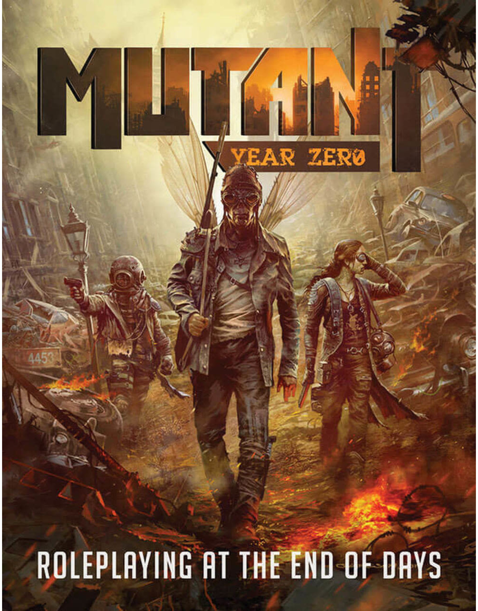 Modiphius Entertainment Mutant: Year Zero RPG - Core Rules Hardcover
