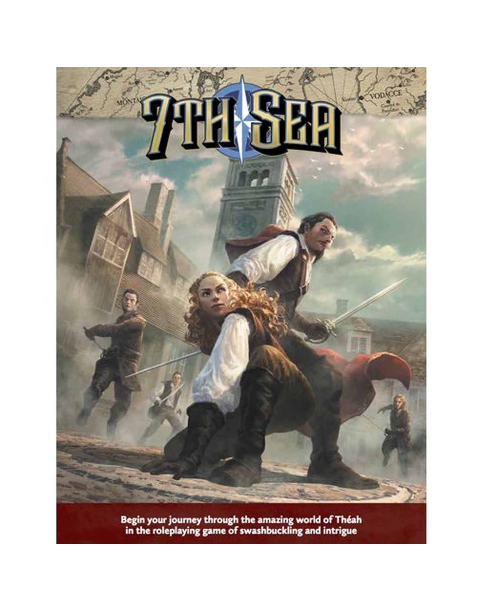 John Wick Presents 7TH SEA RPG 2ND EDITION: CORE RULEBOOK