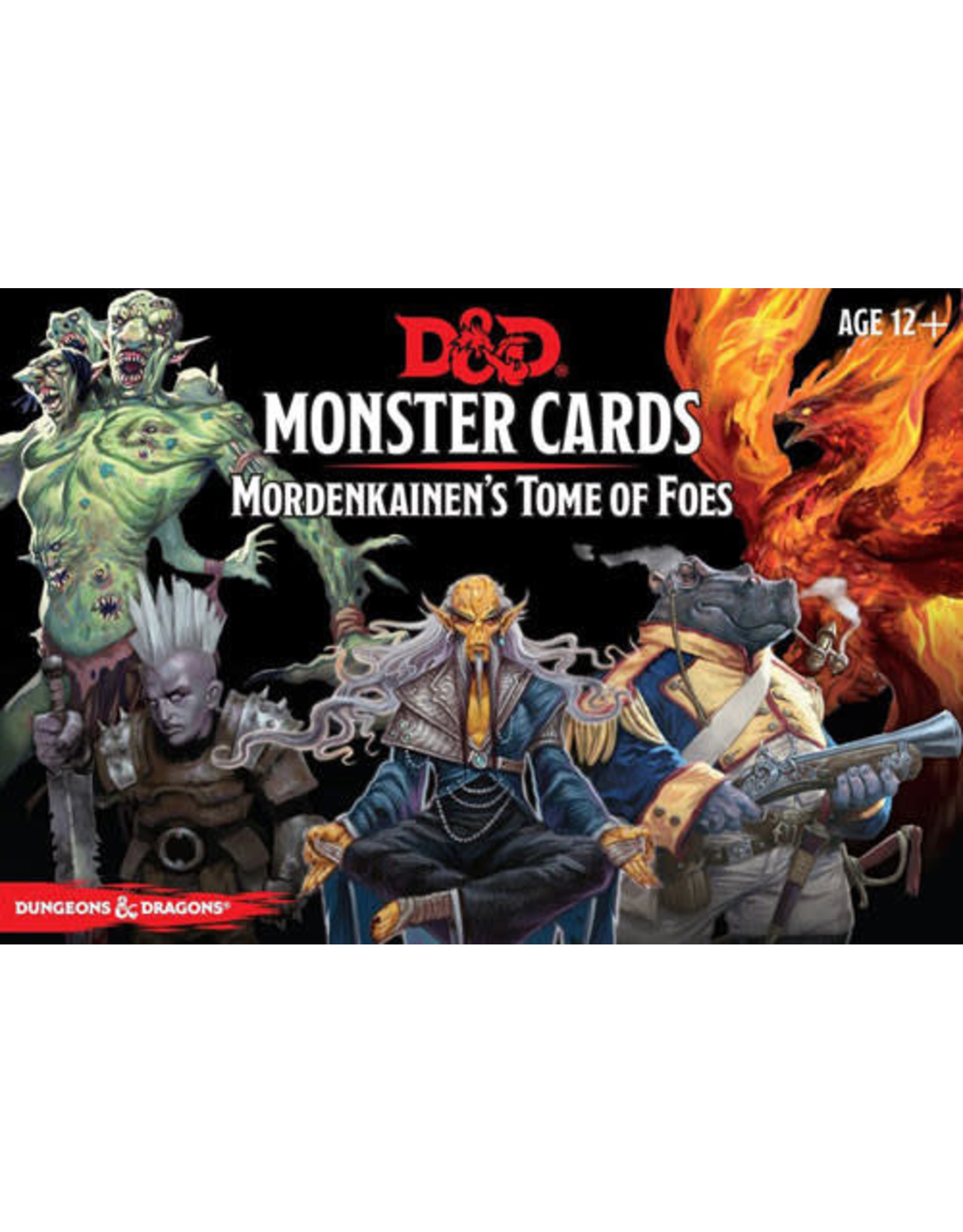 Wizards of the Coast Dungeons and Dragons RPG: Monster Cards - Mordenkainen`s Tome of Foes (109 cards)