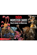 Wizards of the Coast Dungeons and Dragons RPG: Monster Cards - Volo`s Guide to Monsters (81 cards)