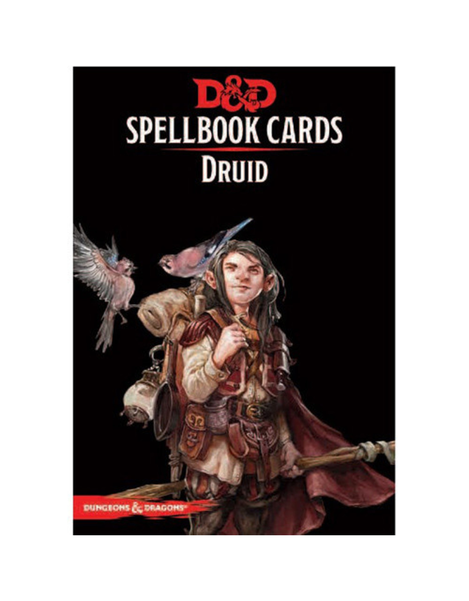 Wizards of the Coast Dungeons and Dragons RPG: Spellbook Cards - Druid Deck (131 cards)