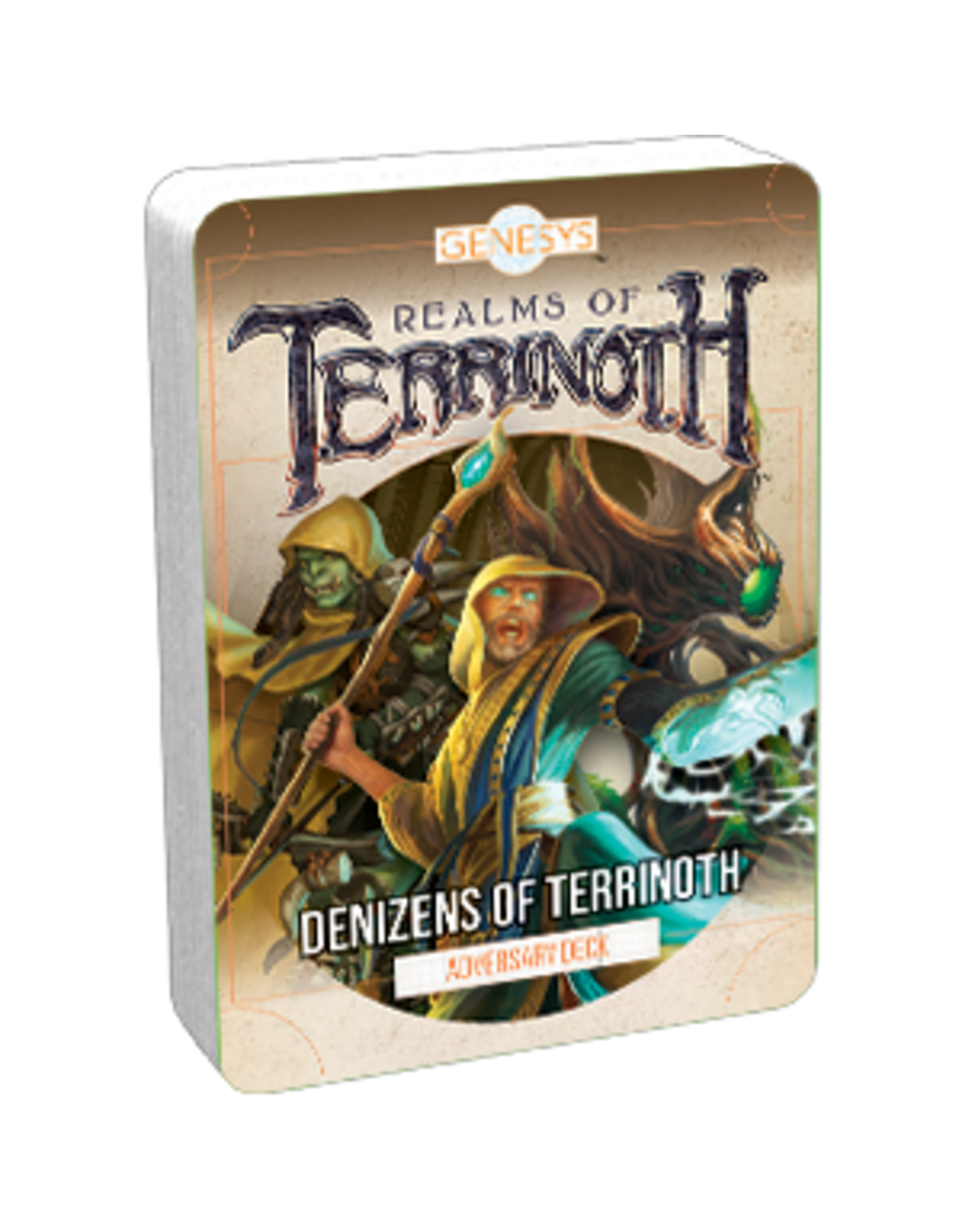 Fantasy Flight Games Genesys RPG: Adversary Deck - Denizens of Terrinoth