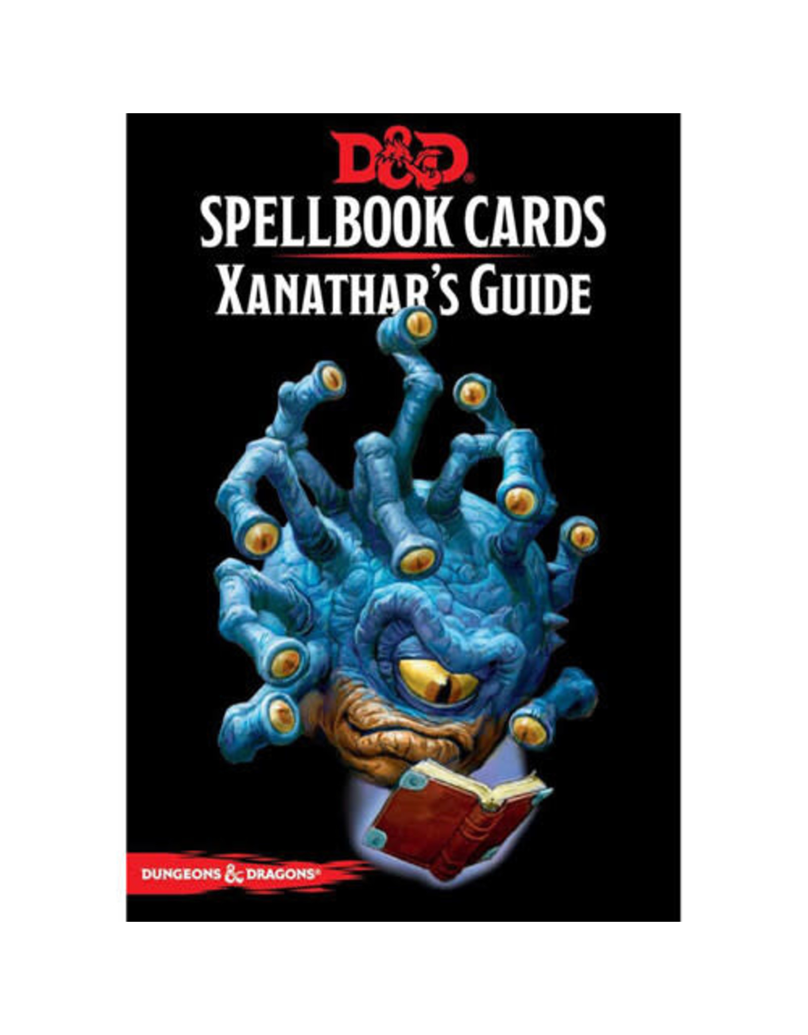 Wizards of the Coast Dungeons and Dragons RPG: Spellbook Cards - Xanathar`s Guide Deck (95 cards)