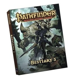 Paizo Publishing Pathfinder RPG 1st Ed Bestiary 3 Pocket Edition (Softcover)