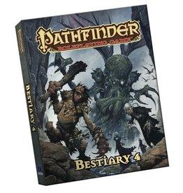 Paizo Publishing Pathfinder RPG 1st Ed Bestiary 4 Pocket Edition (Softcover)
