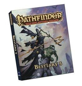 Paizo Publishing Pathfinder RPG 1st Ed Bestiary 5 Pocket Edition (Softcover)