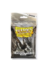 Dragon Shield Dragon Shields: (100) Perfect Fit Top-Loader Smoke