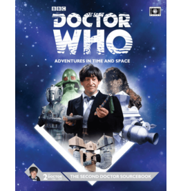 Cubicle Seven Doctor Who RPG: The Second Doctor Sourcebook
