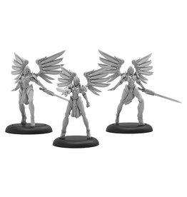 Privateer Press Warmachine: Convergence of Cyriss Negation Angels Unit