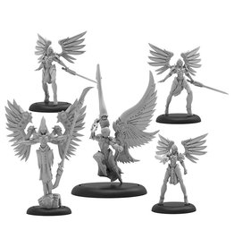 Privateer Press Warmachine: Convergence of Cyriss Archnumen Aurora Mercenary Warcaster Solo Unit