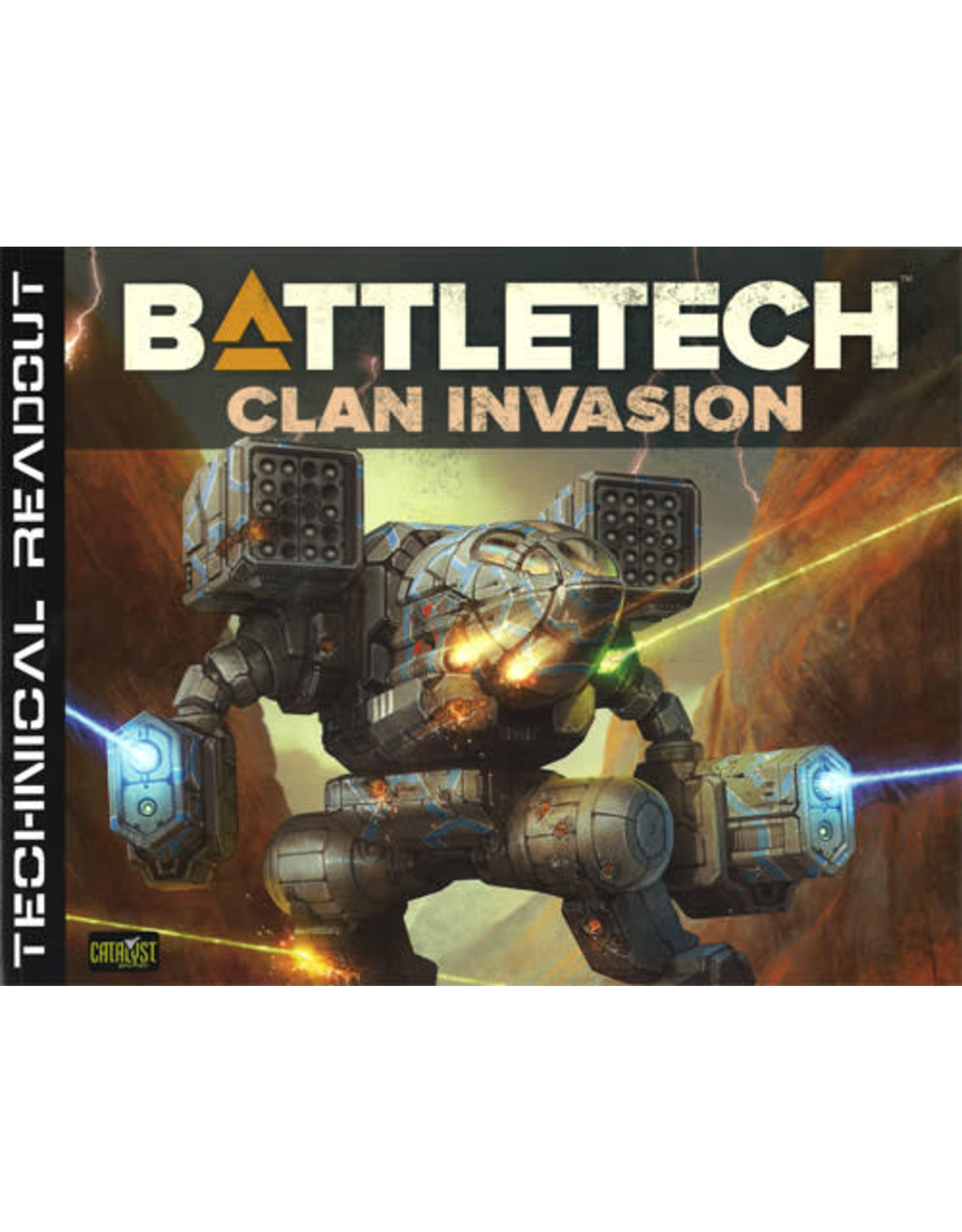 Catalyst Game Labs BattleTech: Technical Readout Clan Invasion