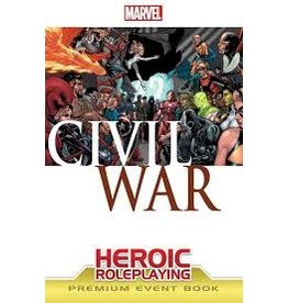 Marvel Heroic Roleplaying: Civil War Essentials Event Book