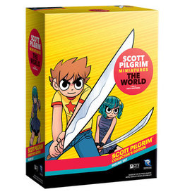 Renegade Game Studios Scott Pilgrim Miniatures The World: Collector`s Edition Figure Set