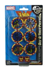 WizKids Marvel Heroclix X-Men The Animated Series Dark Phoenix Dice & Token Set