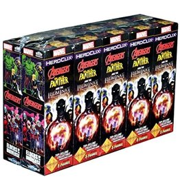 WizKids Marvel Heroclix: Black Panther and the Illuminati Booster Brick